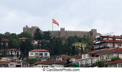 Ohrid city and fortress Macedonia