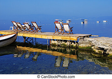 Ohrid lake - A quiet place for visitors to enjoy the beauty ...