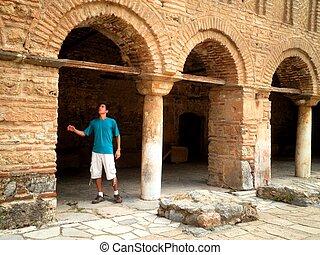 ohrid, turista, macedonia