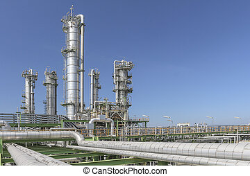 Oil and chemical plant