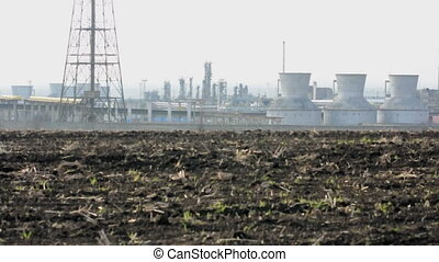 Oil and chemical refinery for production of petroleum...