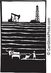 Oil and Farm