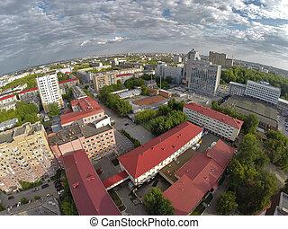 Oil and gas college, Gazprom building. Tyumen