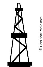 Oil and gas derrick