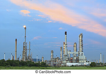 oil and petrochemical industry plant in thailand
