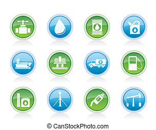 oil and petrol industry objects