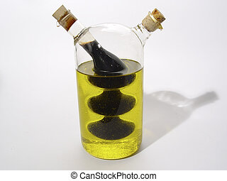 Oil and Vinegar - Photo of Oil and Vingar Bottle
