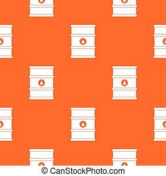Oil barrel pattern seamless