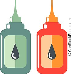 Oil Bottle Vector