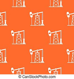 Oil derrick pattern seamless - Oil derrick pattern repeat...