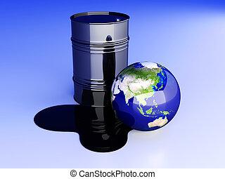 Oil disaster - Asia