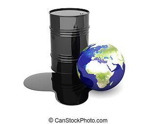 Oil disaster - Europe