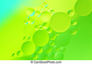 Oil drop background