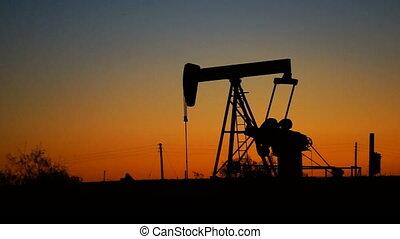 Oil Field Pump Jack Fracking Machine Drills Pumps Resources