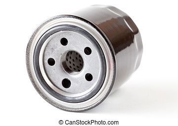 Oil Filter on a white background