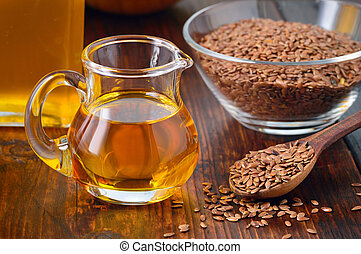 oil., flaxseeds, linseed