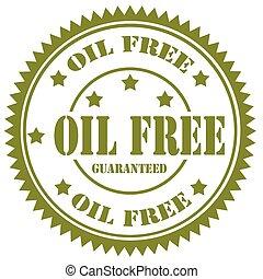 Oil Free-stamp