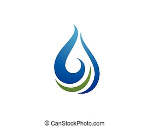 Oil, gas and energy logo concept