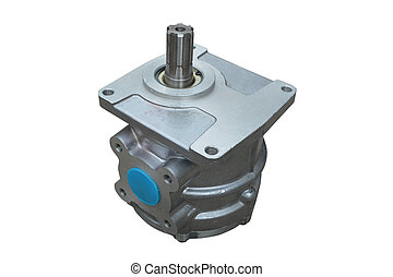 oil gear pump hydraulic system of the vehicle