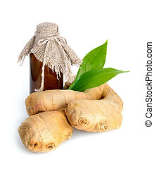 oil., gingers, essenziale