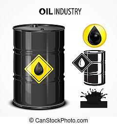 Oil industrial