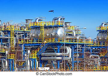 Oil industry equipment installation