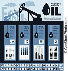 Oil Industry Infographic Template