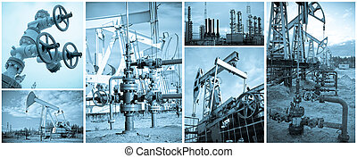 Oil Industry. - Oil and gas industry. Extraction of oil....