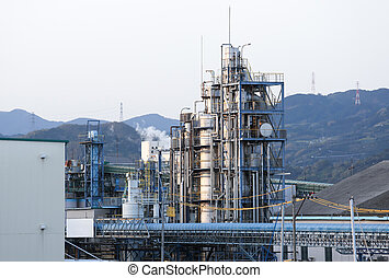 Oil mill industry in Japan