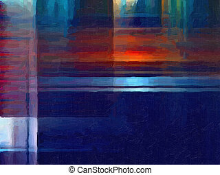 Oil paint background - This image was created as digital ...