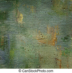 oil painted canvas, nice grunge textured background