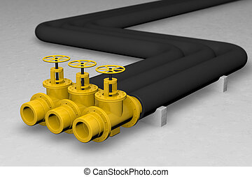 oil pipe - big pipe and oil factory