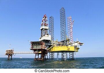 platform  - Oil  platform in international water