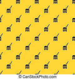 Oil platform pattern vector