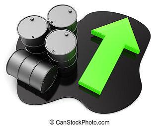 oil price grow