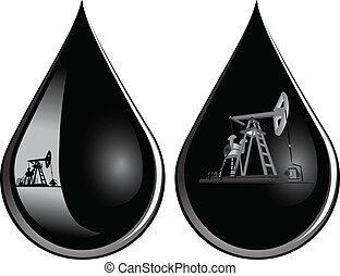 oil-producing, pumpen