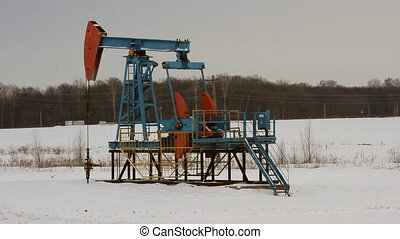 Oil production in the winter