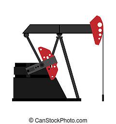 oil pump, ilustration