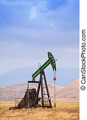 Oil pump in California, United States of America