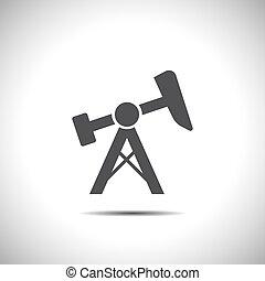 oil pump jack icon