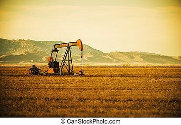 Oil Pump on Prairie