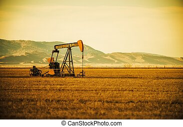 Oil Pump on Prairie