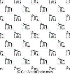 Oil pump pattern