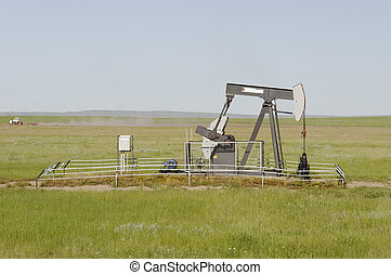 Oil pump, Alberta, Canada