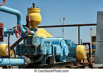 oil., pumpa, szivattyúzás