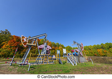 Oil pumpjack. A pumpjack is the overground drive for a reciprocating piston pump in an oil well. It is used to mechanically lift liquid out of the well if not enough bottom hole pressure exists for the liquid to flow all the way to the surface. The arrangement is commonly used for onshore wells ...