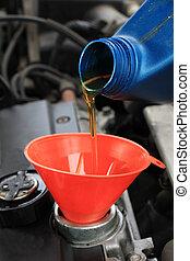 Oil refill