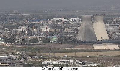 Oil Refineries Ltd in Haifa, Israel - HAIFA, ISR - APR 21...