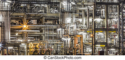 oil refinery, bylina
