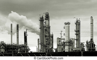 Oil refinery - Gas production in Washington state, USA